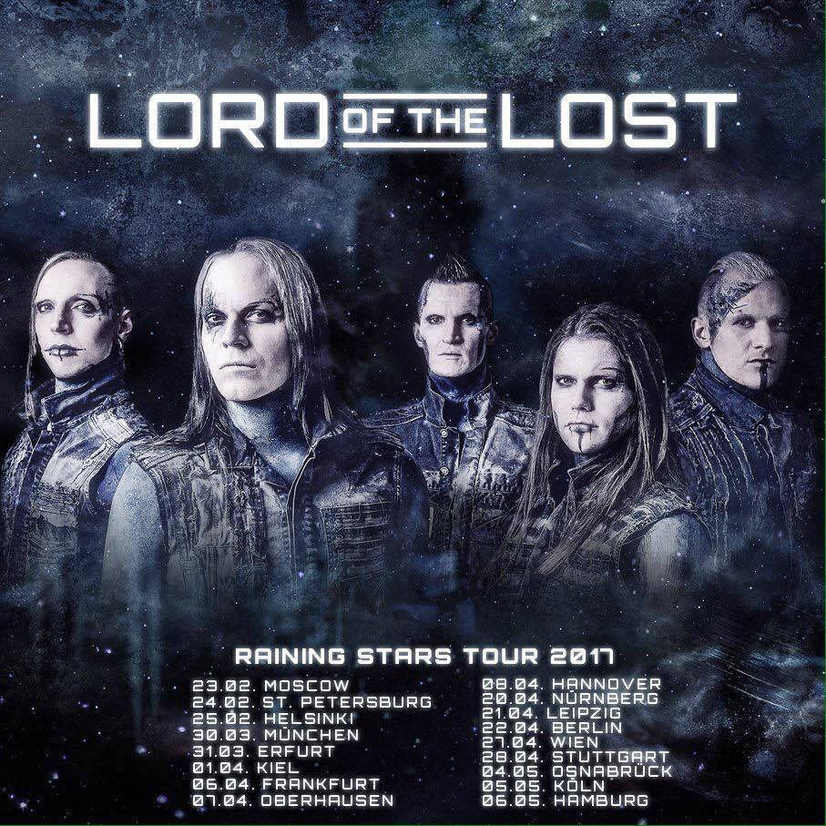 Lord Of The Lost - Raining Stars Tour 2017